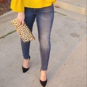 bebe stretchy denim skinny jean size 29 / size 6
